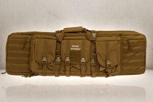 Airsoft rifle Bag Double - Tan-0