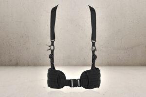 Combat Belt Suspender - Black-0