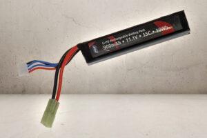 11.1V Stock Tube Batteri-0