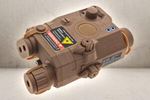 Navy Seal SOF PEQ15 Batteribox - Tan-0