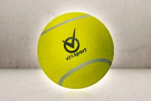 KÆMPE Tennisbold-0