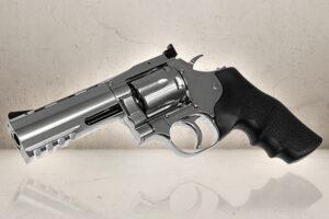 """Dan Wesson 715 .357 Magnum 4"""" Chrome-0"""