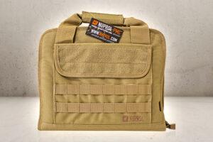 PMC Deluxe Pistol Bag - Tan-0