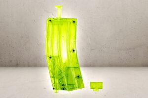 XL Speedloader 400 kugler i neon grøn-0