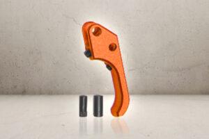 Custom CNC SAO Aluminum Trigger - Orange-0