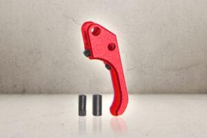 Custom CNC SAO Aluminum Trigger - Red-0