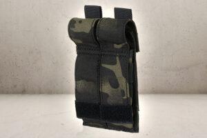 Dobbelt Pistol Magasin Pouch - Multicam Black-0