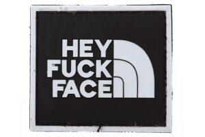 Hey Fuck Face - Black/White-0