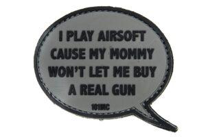 I Play Airsoft - Grey-0