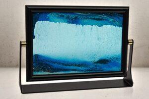 Sandbillede - blå-0