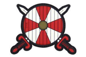 Viking Shield - Red/White-0