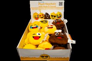 Emojie Plushie Keychain-0