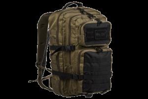 US Assault Pack Large - Ranger Green / Black-0