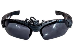 AimCAm Skydebrille - Sort-0
