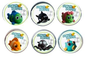 Clay slime sea creatures-0
