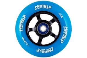 her ser du et billede af HangUp Alu Core Blå 100 mm hjul