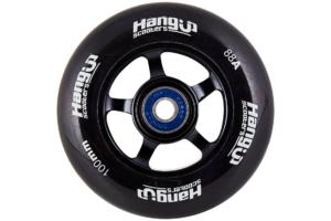 dette er billede af HangUp Alu Core Sort hjul 100mm