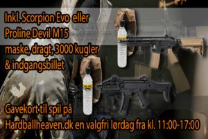 Gavekort til Hardballheaven.dk