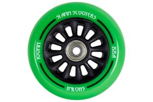dette er et billede af Slamm Hjul Grøn Nylon Kerne