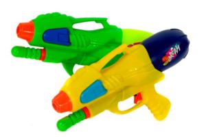 Her ser du et billede af vandpistol