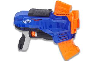 Her ser du Rukkus ICS-8 Nerf N-Strike Elite