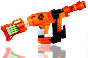 Her ser du Nailbiter XL Nerf Zombie