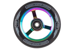 Longway Metro 110mm Hjul - Rainbow-0