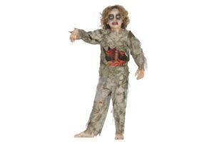 Børne Zombie Kostume -0