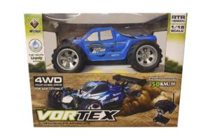 Vortex - 4WD - Blue RTR 1:18 - 50 km/t -0