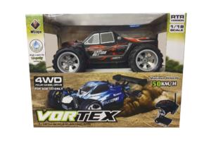 Vortex - 4WD - Black RTR 1:18 - 50 km/t-0