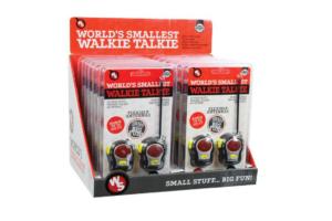 Verdens mindste walkie talkie sæt-0