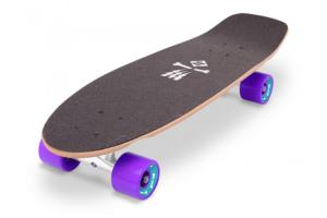 Skateboardet set ovenfra