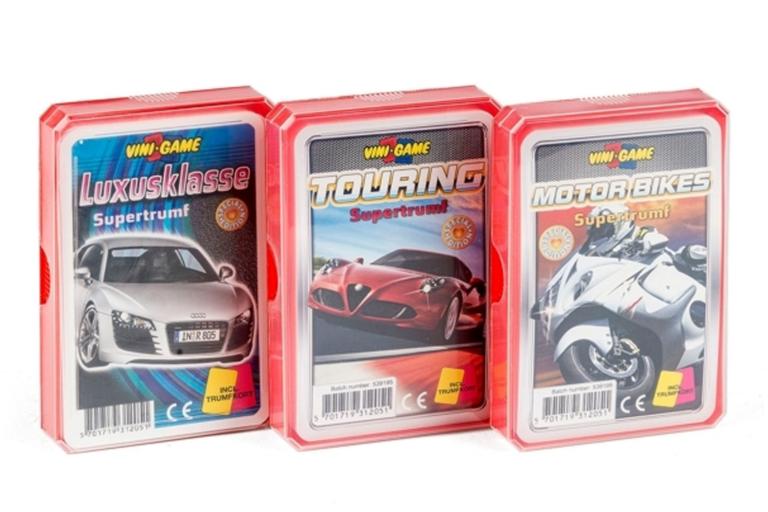 Her er bilkortene