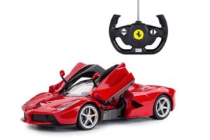 Billede af controller og bil