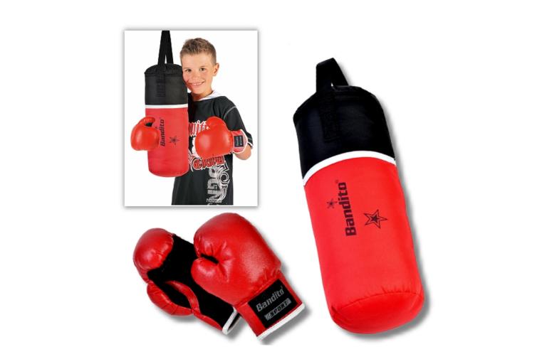 Billede af boksesækken