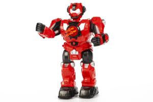Rød R/C robot